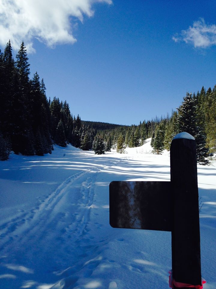 A scenic look at Copper Mountain's nordic and snowshoe trails