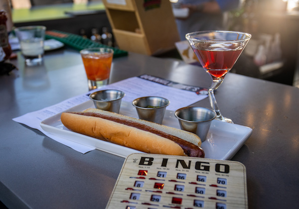 Duke's bingo night & hot dog